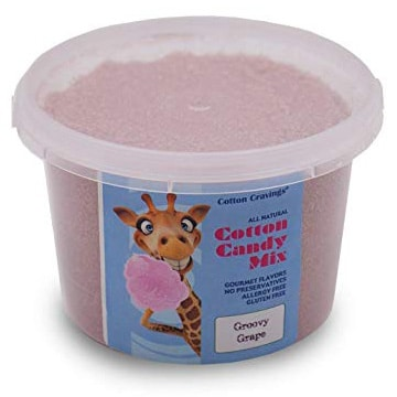 cotton candy mix natural sguar mix