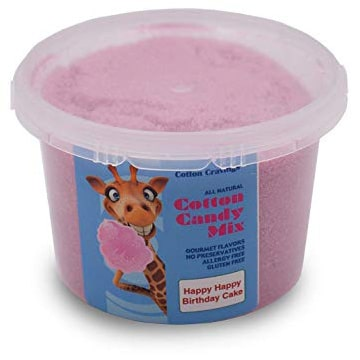 flavored cotton candy mix