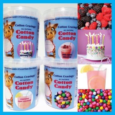unique cotton candy flavors