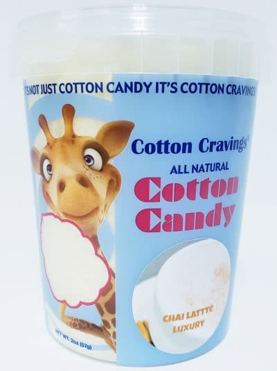 chai latte flavored cotton candy