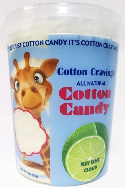 key lime pie flavored cotton candy