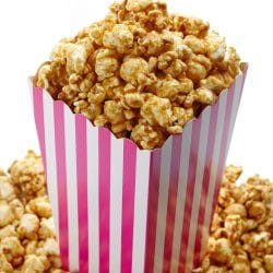 caramel popcorn cotton candy mix