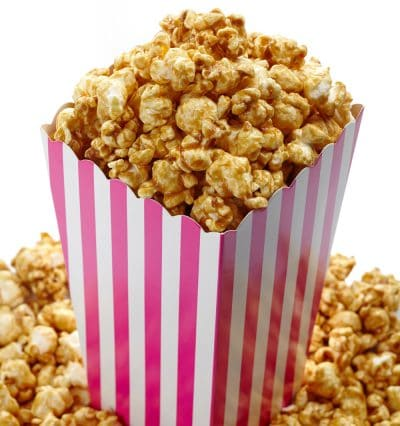 caramel popcorn cotton candy mix